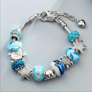 Jewelry - Ocean shell chain bracelet 🐬🐬